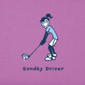 Women's Sunday Driver Jackie Vintage Crusher Tee