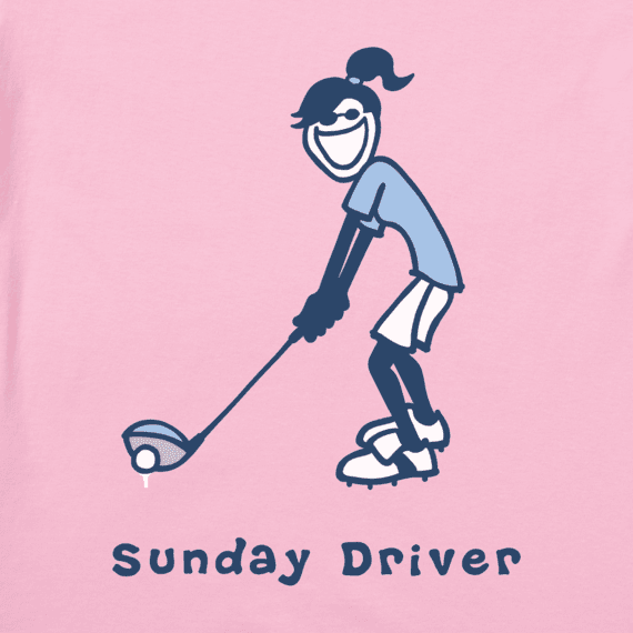 Women's Sunday Driver Jackie Vintage Crusher Tee