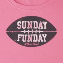 Women's Sunday Funday Crusher Scoop Neck Tee