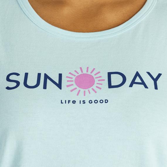 Women's Sunday Sun High-Low Crusher Tank