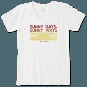 Women's Canada Sunny Days Crusher Vee
