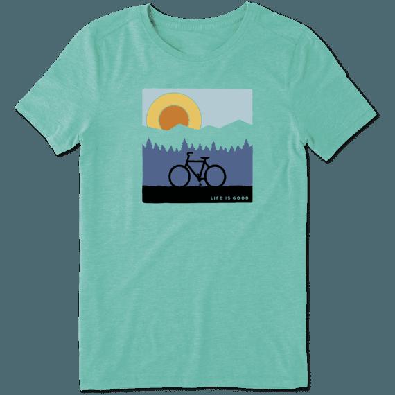 Women's Sunrise Bike Cool Tee