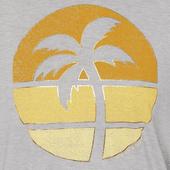 Women's Sunset Palm Favorite Slouchy Tee