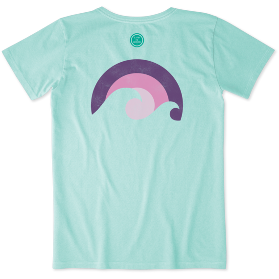 Women's Sunset Waves Crusher Tee