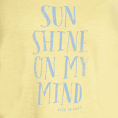 Women's Sunshine On My Mind Breezy Tank