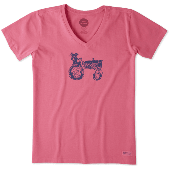 Women's Super Farmer Crusher Vee