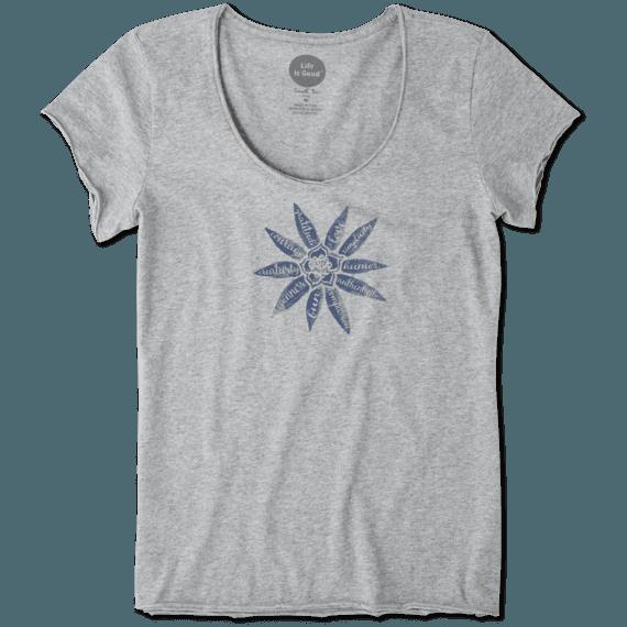 Women's Superpower Flower Smooth Tee