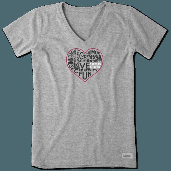Women's Superpower Love Crusher Vee
