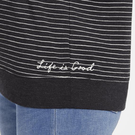 Women's Supreme Stripe LIG Supreme Scoop Pullover