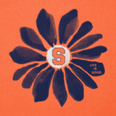 Women's Syracuse Daisy Long Sleeve Cool Vee