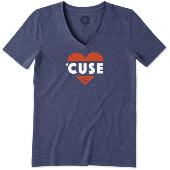 Women's Syracuse Heart Knockout Cool Vee