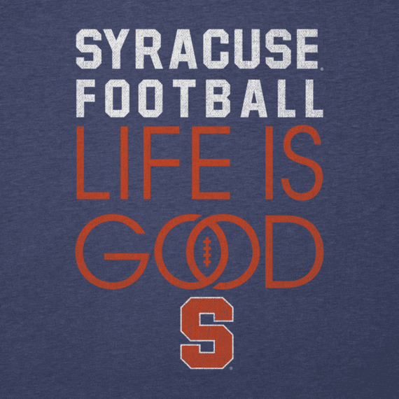 Women's Syracuse Infinity Football Long Sleeve Cool Vee