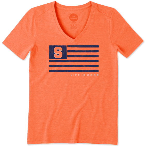 Women's Syracuse Team Flag Cool Vee