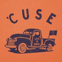 Women's Syracuse Vintage Truck Long Sleeve Cool Vee
