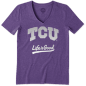 Women's TCU Horned Frogs Gradient Tailwhip Cool Vee