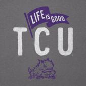 Women's TCU Horned Frogs Pennant Long Sleeve Cool Vee