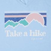 Women's Take A Hike Cool Vee