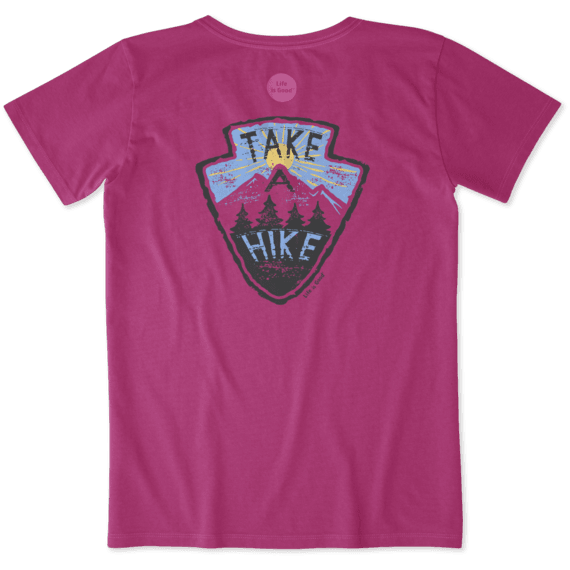 Women's Take A Hike Crusher Tee