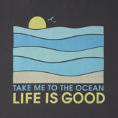 Women's Take Me To The Ocean Crusher Tee