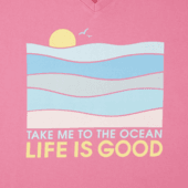 Women's Take Me To The Ocean Crusher Vee