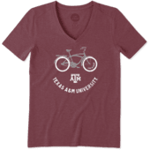 Women's Texas A&M Beach Cruiser Cool Vee
