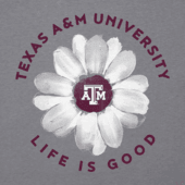 Women's Texas A&M Daisy Long Sleeve Cool Vee