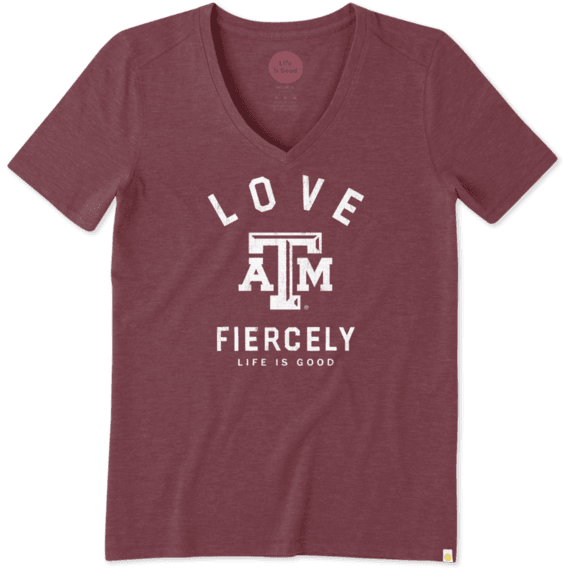 Women's Texas A&M Love Fiercely Cool Vee