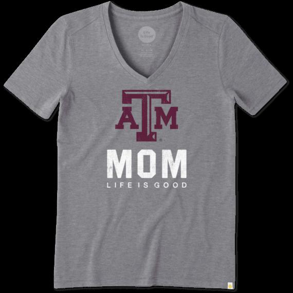 Women's Texas A&M Mom Cool Vee