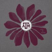 Women's Texas A&M Aggies Daisy Long Sleeve Cool Vee