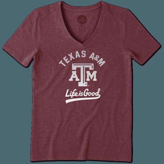 Women's Texas A&M Aggies Gradient Tailwhip Cool Vee
