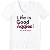 Women's Texas A&M Go Team Cool Vee