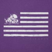 Women's Texas Christian Flag Cool Vee