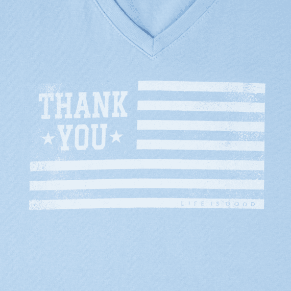 Women's Thank You Veterans Crusher Vee