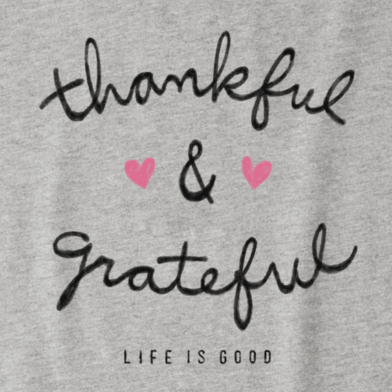 Women's Thankful Grateful Crusher Vee
