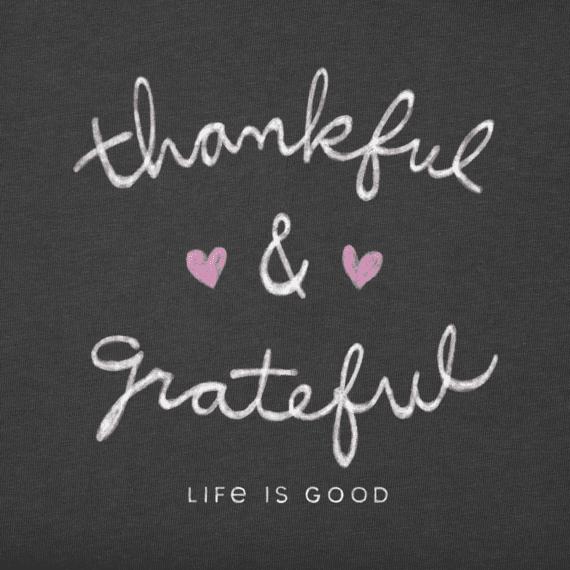 Women's Thankful and Grateful Crusher Tee