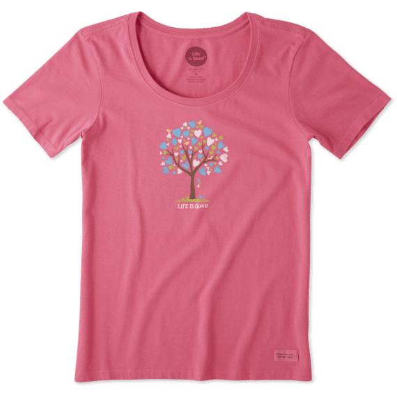 Women's The Love Tree Crusher Scoop Tee