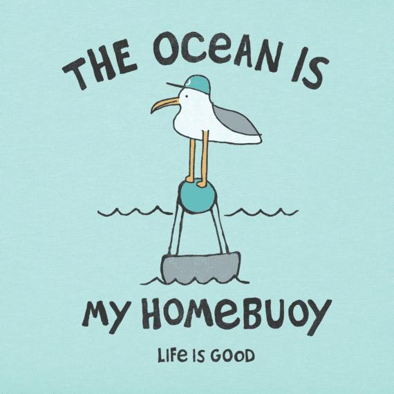 Women's The Ocean Is My Homebuoy Crusher Vee