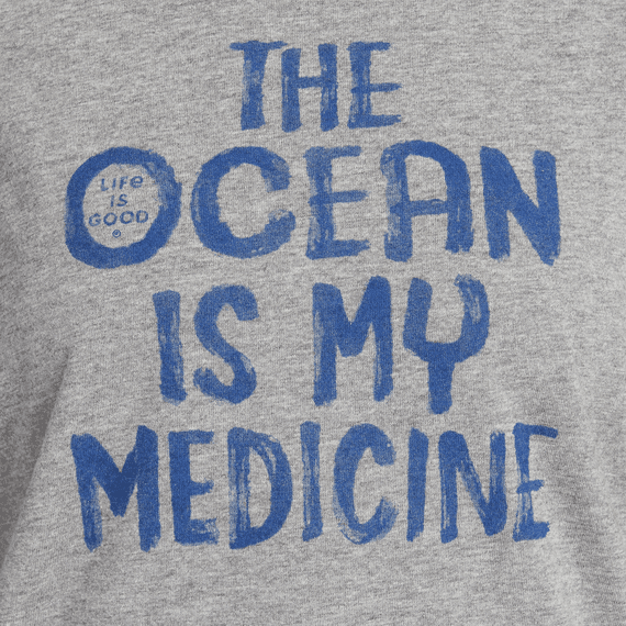 Women's The Ocean Is My Medicine High-Low Crusher Tank
