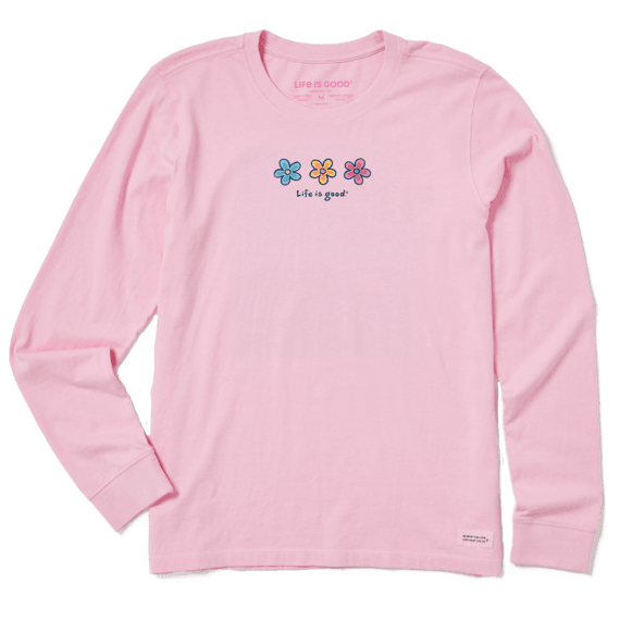Life is Good Womens Womens Crusher L//S Outdoors