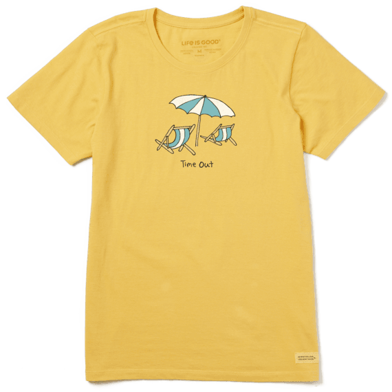 Women's Time Out Beach Crusher Tee