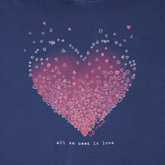 Women's Tiny Hearts Go-To Hoodie