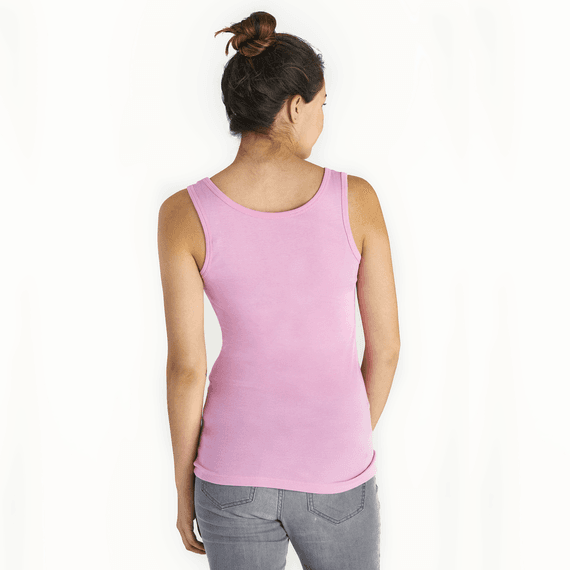 Women's Today Is a Good Day Soft & Simple Fitted Tank