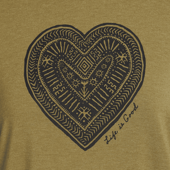 Women's Tribal Heart Supreme Blend Hooded Pullover