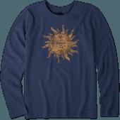Women's Tribal Sun Long Sleeve Crusher Tee
