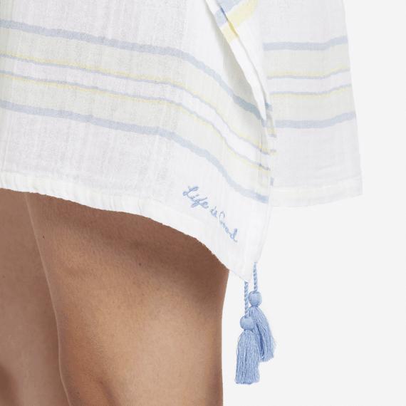 Women's Tropic Stripe Summer Breeze Tunic