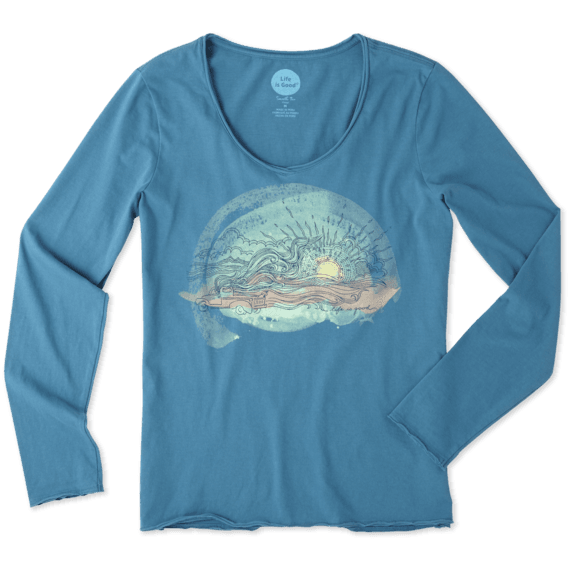 Women's Truck Flow Long Sleeve Smooth Tee