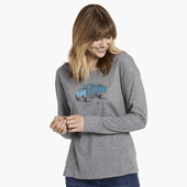 Women's Truck Love Long Sleeve Breezy Tee