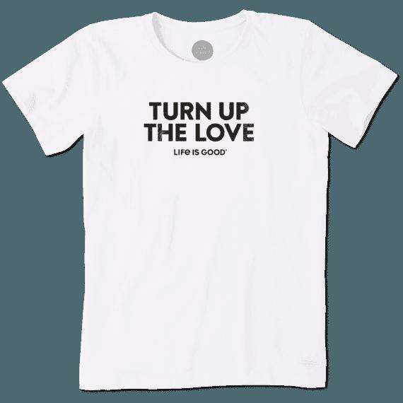 Women's Turn Up The Love Crusher Tee