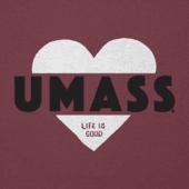 Women's UMass Heart Knockout Cool Vee