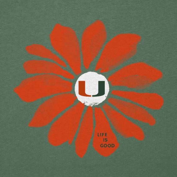 Women's University of Miami Daisy Cool Vee
